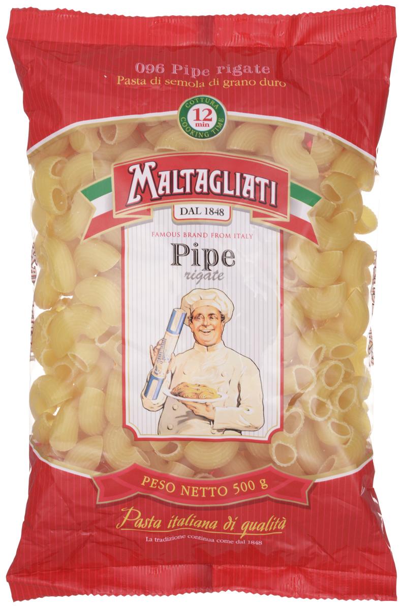 Maltagliati Pipe Rigate Улитка макароны, 500 г