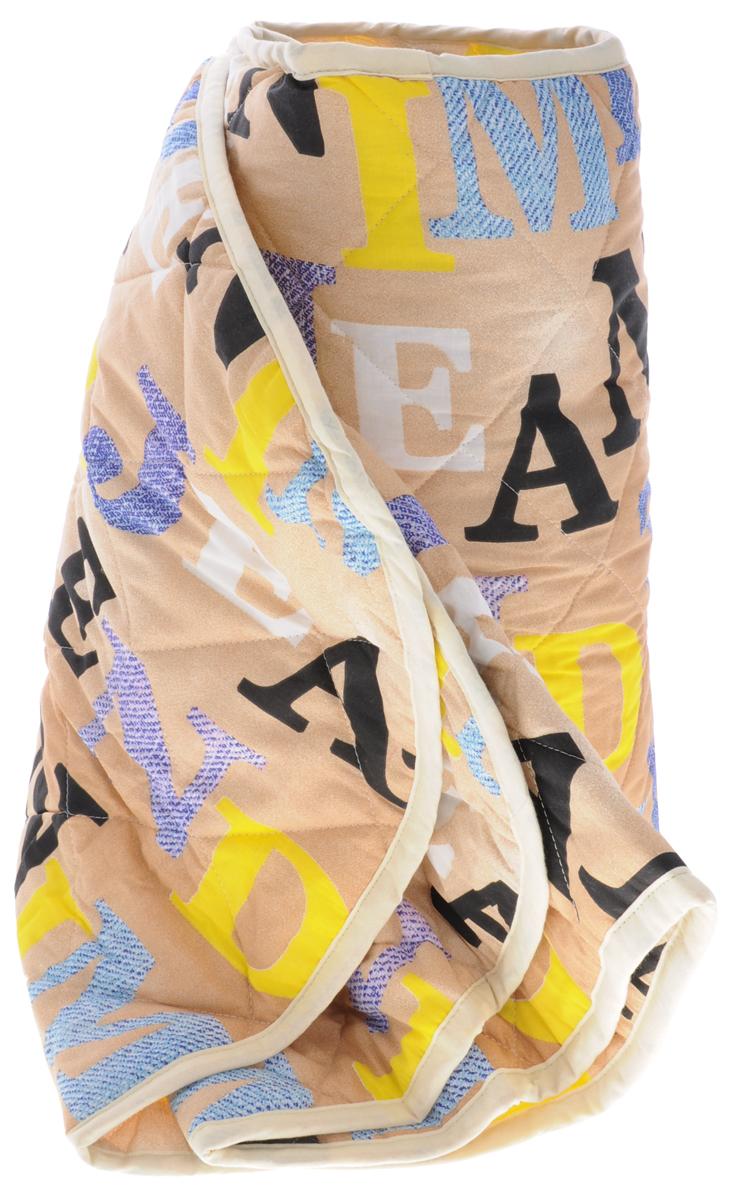 Letto Home Textile Letto Детское одеяло-покрывало Алфавит 140 см х 200 см