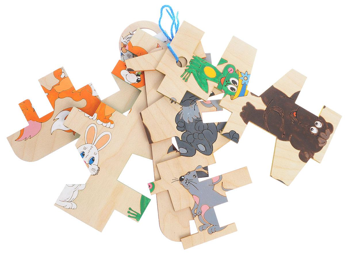Таис Пазл Головоломка КлючиЦПГКГоловоломка-пазл Таис Головоломка Ключи является отличным примером экологически чистых игрушек. Набор составляют яркие фигуры в форме ключей, изготовленные из натурального дерева и основа для сборки пазла. На обратной стороне ключей - рисунок с лесными животными. Игра потребует терпения, концентрации внимания, заставляет думать и размышлять. Все элементы головоломки тщательно отшлифованы и полностью безопасны для детских рук. Деревянные пазлы помогают ребенку в ходе захватывающей внимание игры освоить много важных навыков. Эти экологичные игрушки способствуют развитию логического и наглядно-образного мышления, тренируют память, мелкую моторику рук, формируют пространственное восприятие и учат малыша концентрировать внимание на определенном деле.
