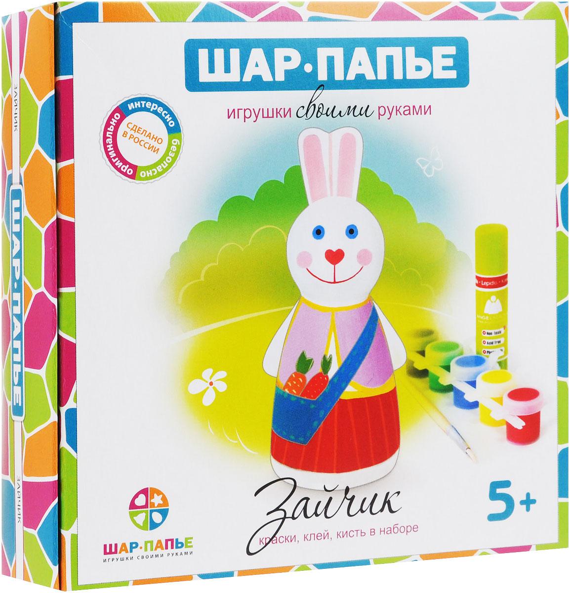Шар-папье Набор для изготовления игрушки Зайчик