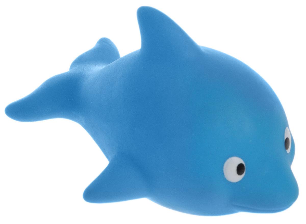 Затейники Игрушка для ванной ДельфинGT2458_дельфин голубойИгрушка для ванной Затейники Дельфин понравится вашему ребенку и развлечет его во время купания. Она выполнена из безопасного материала в виде симпатичного дельфина. Размер игрушки идеален для маленьких ручек малыша. Игрушка держится на воде и светится при нажатии на животик. Игрушка для ванны способствует развитию воображения, цветового восприятия, тактильных ощущений и мелкой моторики рук.