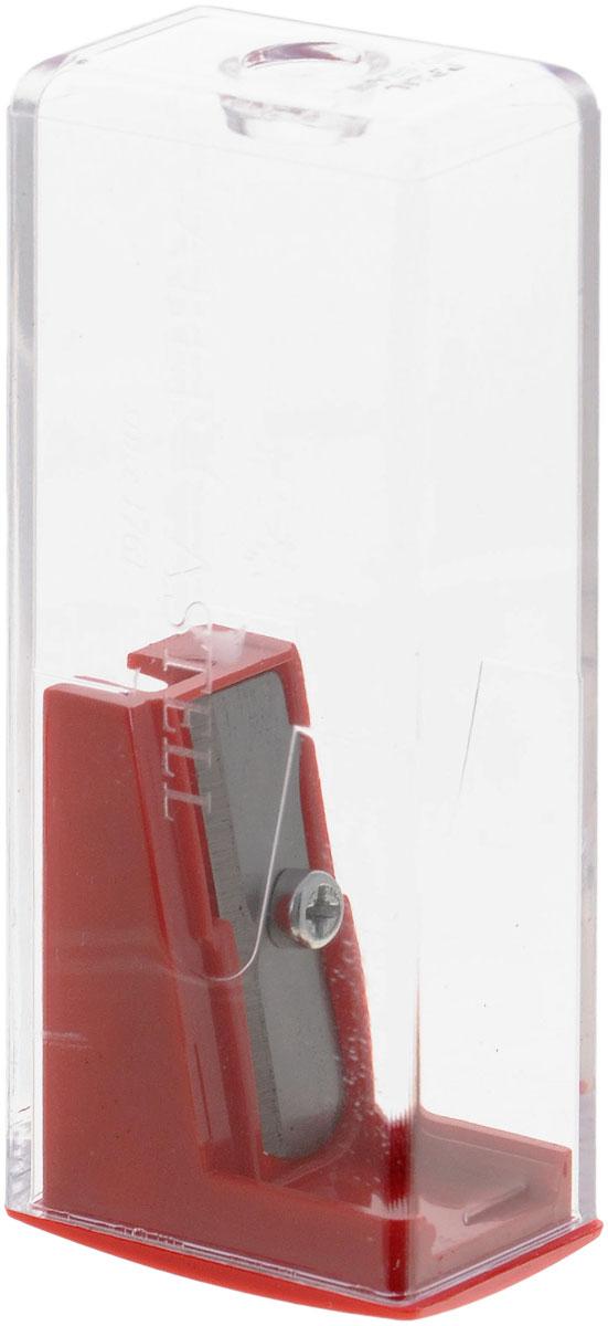 Faber-Castell Точилка с контейнером цвет красный