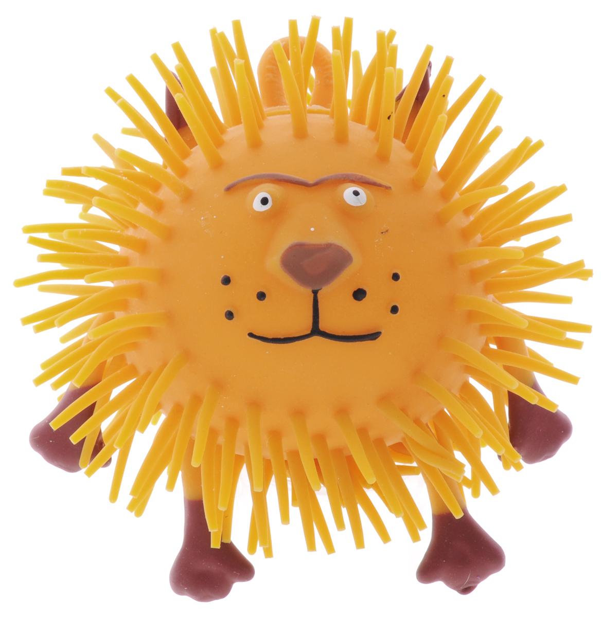 1TOY Игрушка-антистресс Ё-Ёжик Животное цвет оранжевыйТ52164_оранжевыйИгрушка 1TOY Ё-Ёжик: Животное - это яркая игрушка-антистресс. Мягкая, приятная на ощупь и напоминающая свернувшегося ёжика, игрушка понравится и детям, и взрослым. Взяв игрушку в руки, расстаться с ней просто невозможно! Ё-Ёжик обязательно станет самым любимым забавным сувениром.