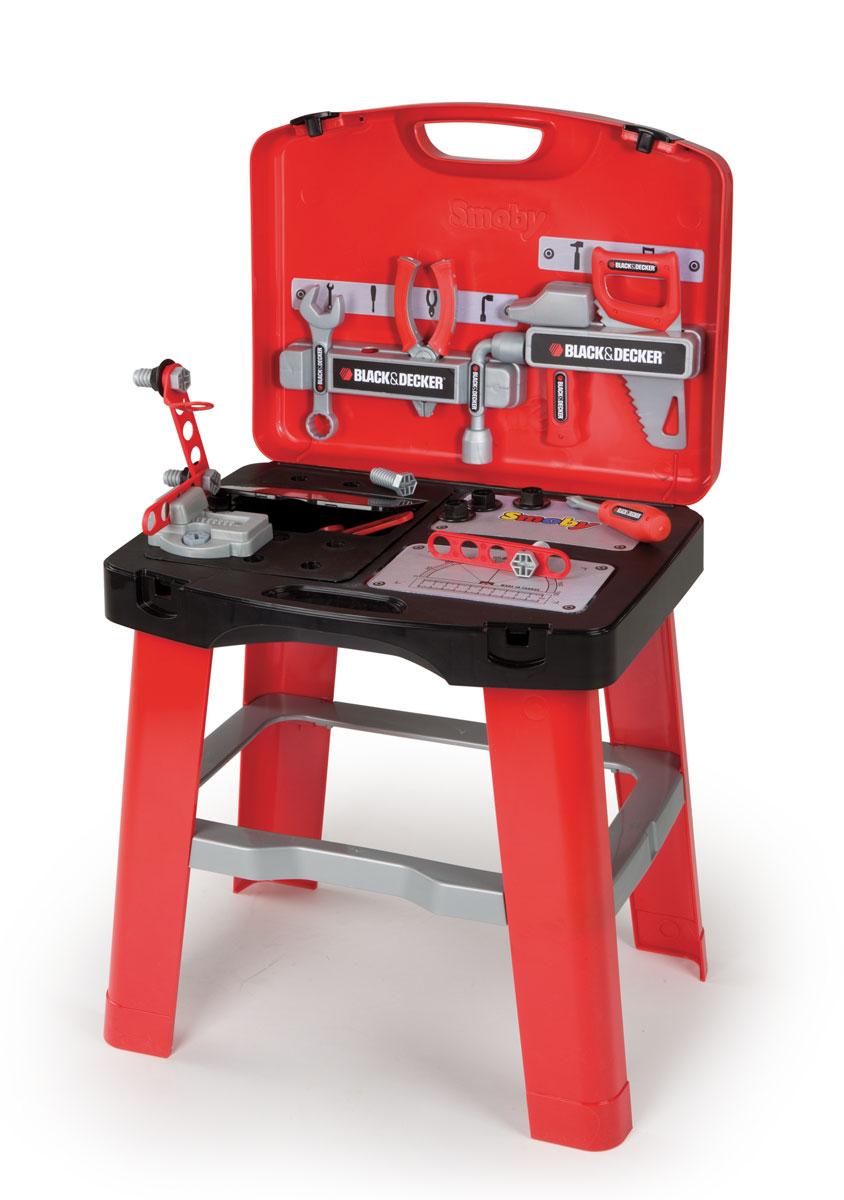 Smoby Ремонтная мастерская в чемоданчике500240Внимание! Возможно проглатывание мелких деталей.Пользоваться только под непосредственным контролем взрослых с соблюдением необходимой предосторожности. Не обеспечивает защиты при несчастном случае.