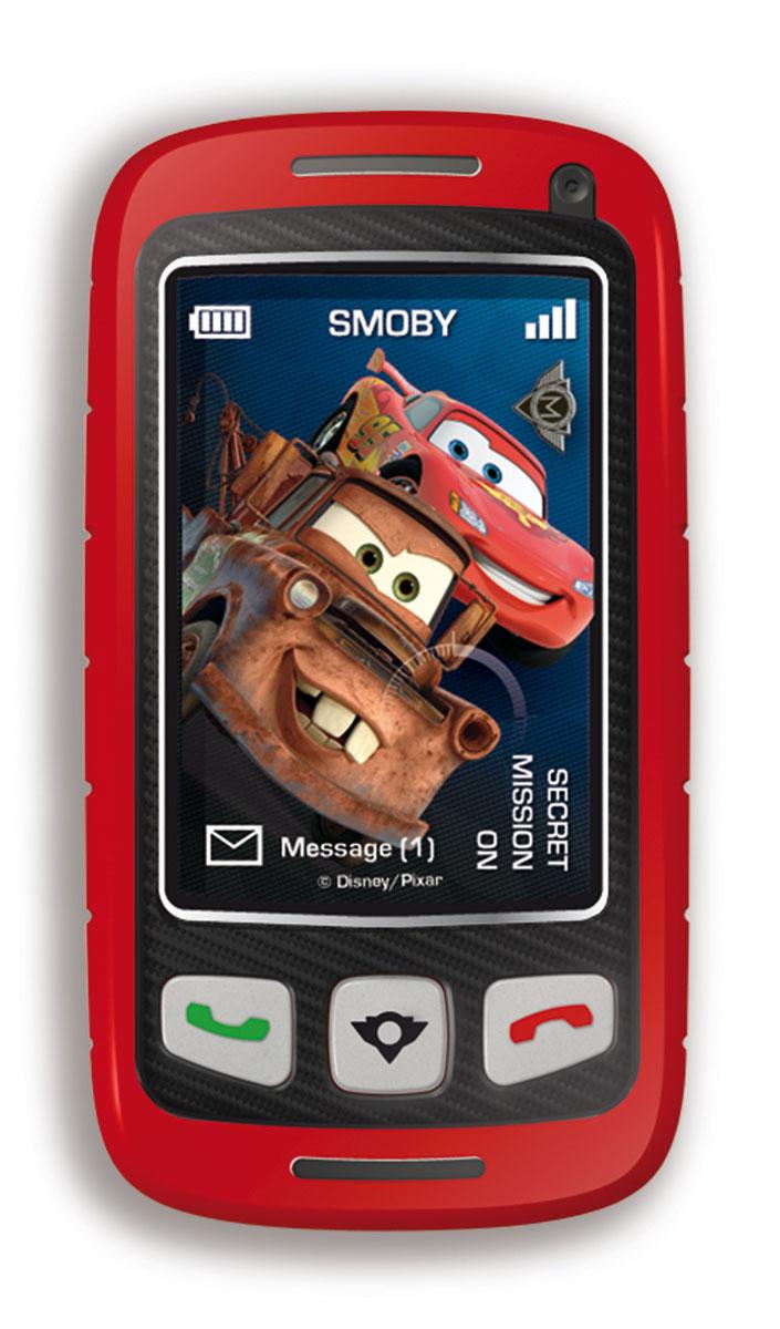 Smoby Телефон шпиона Тачки500169Игрушка Smoby Телефон шпиона понравится любому малышу. С этой игрушкой малыш сможет почувствовать себя совсем взрослым - теперь у него будут свой собственный телефон, как у мамы с папой и даже лучше! Игрушка выполнена из прочного безопасного пластика в виде мобильного телефона-слайдера. Телефон записывает голос и с помощью встроенного трансформатора меняет его до неузнаваемости. Телефон содержит три вида голосовых эффектов. Игрушка содержит кнопки записи, включения/выключения и кнопки звонков. Такая игрушка станет не только веселой, но и полезной забавой для малыша. Игрушка поможет развить мелкую моторику малыша, цветовое и звуковое восприятие, а также внимание и творческое мышление. Рекомендуется докупить 2 батарейки типа АAА (не входят в комплект).