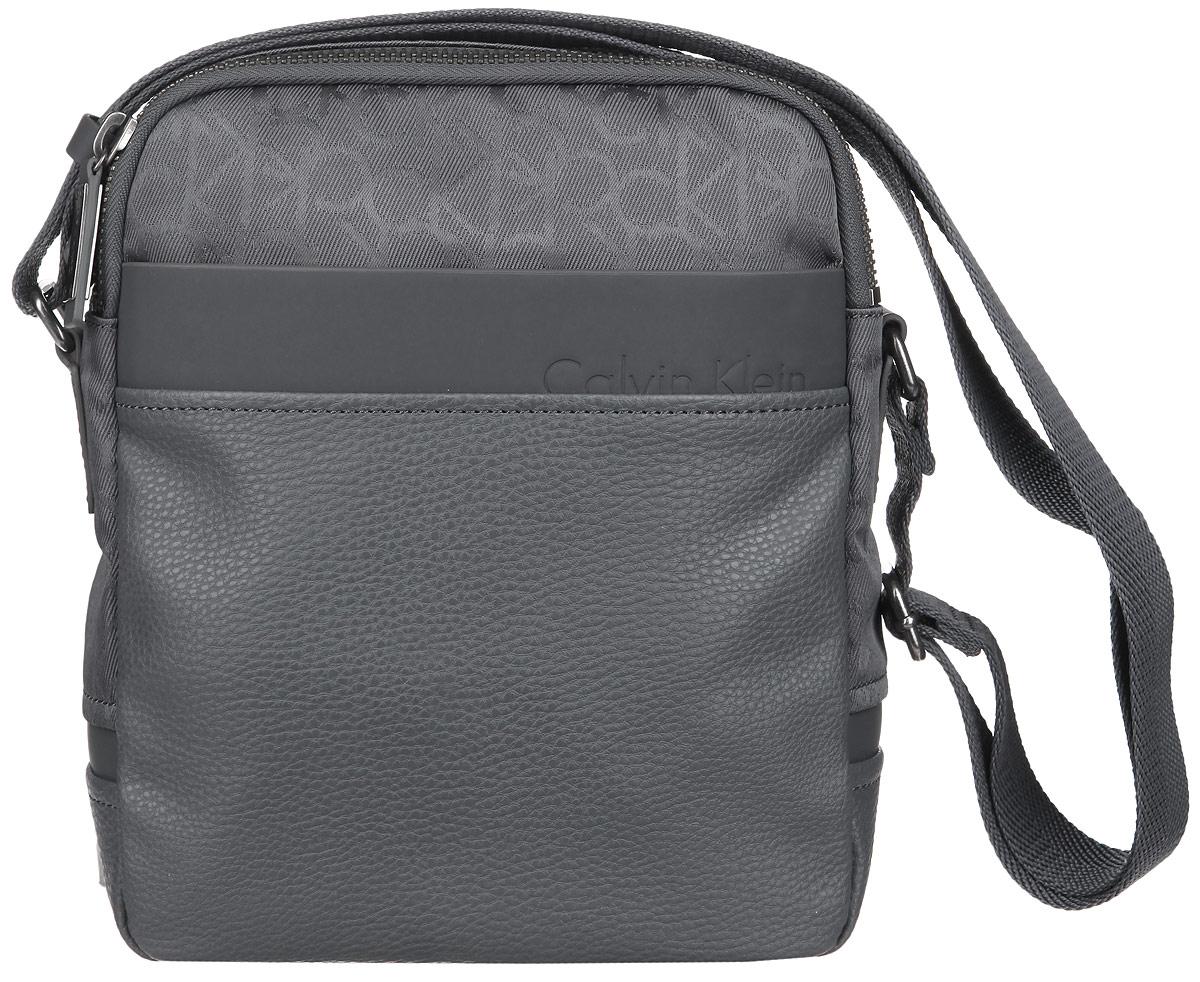 Сумка мужская Calvin Klein Jeans, цвет: серый. K50K500730