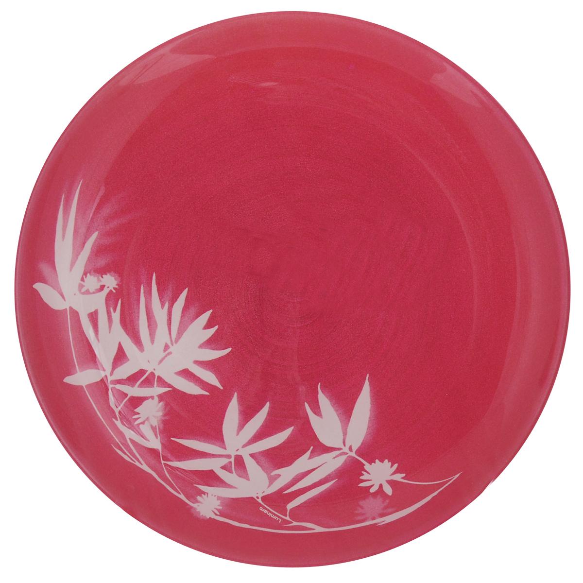 Тарелка десертная Luminarc Darjeeling Pink, диаметр 20 смH3569Десертная тарелка Luminarc Darjeeling Pink, изготовленная из ударопрочного стекла, имеет изысканный внешний вид. Такая тарелка прекрасно подходит как для торжественных случаев, так и для повседневного использования. Идеальна для подачи десертов, пирожных, тортов и многого другого. Она прекрасно оформит стол и станет отличным дополнением к вашей коллекции кухонной посуды. Диаметр тарелки: 20 см.