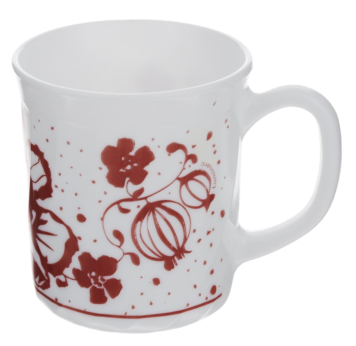 Кружка Luminarc Alcove Red, 290 млH2461Кружка Luminarc Alcove Red изготовлена из упрочненного стекла. Такая кружка прекрасно подойдет для горячих и холодных напитков. Она дополнит коллекцию вашей кухонной посуды и будет служить долгие годы. Объем кружки: 290 мл. Диаметр кружки (по верхнему краю): 8 см. Высота стенки кружки: 9 см.