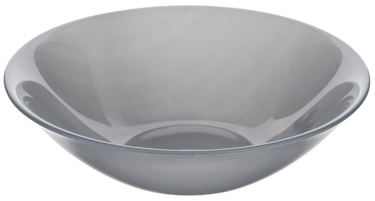 Миска Luminarc Colorama Grey, диаметр 16,5 смJ7793Миска Luminarc Colorama Grey выполнена из высококачественного стекла. Изделие сочетает в себе изысканный дизайн с максимальной функциональностью. Она прекрасно впишется в интерьер вашей кухни и станет достойным дополнением к кухонному инвентарю. Миска Colorama Grey подчеркнет прекрасный вкус хозяйки и станет отличным подарком. Диаметр миски (по верхнему краю): 16,5 см. Высота стенки: 5 см.
