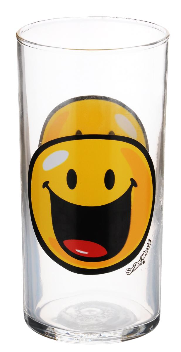 Стакан Luminarc Happy Smiley World, 270 млH4442Стакан Luminarc Happy Smiley World изготовлен из высококачественного стекла. Такой стакан прекрасно подойдет для горячих и холодных напитков: компота, сока, морса и много другого. Он дополнит коллекцию вашей кухонной посуды и будет служить долгие годы. Диаметр стакана (по верхнему краю): 6 см. Высота: 12,5 см.