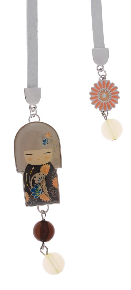 Kimmidoll Закладка для книги ЮаKF0521• Декорирована куколкой-подвеской и бисером. • Упакована в подарочую коробочку. • Превосходное качество материала и многофункицональность сделает эту закладку по-настоящему любимой. Размер: шнурка 30 см, куколки 6 см.
