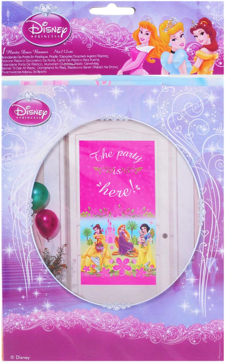 Procos Баннер на дверь Принцессы Disney Летний замок80464Баннер на дверь из детской праздничной серии Принцессы создаст ощущение праздника и веселья еще до того, как ваши гости зайдут в комнату. С баннера на вас смотрят прекрасные принцессы из мультфильмов Диснея - Белоснежка, Рапунцель и Аврора. Устройте веселое торжество с помощью аксессуаров из серии Принцессы, которая так нравятся детям.
