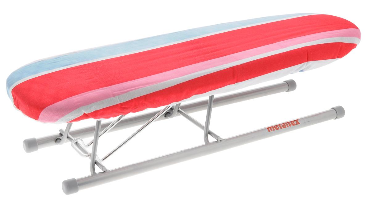 "Нарукавник для гладильной доски Metaltex ""Jeannette"", цвет: белый, красный, розовый, 41 х 12,5 х 11,5 см"