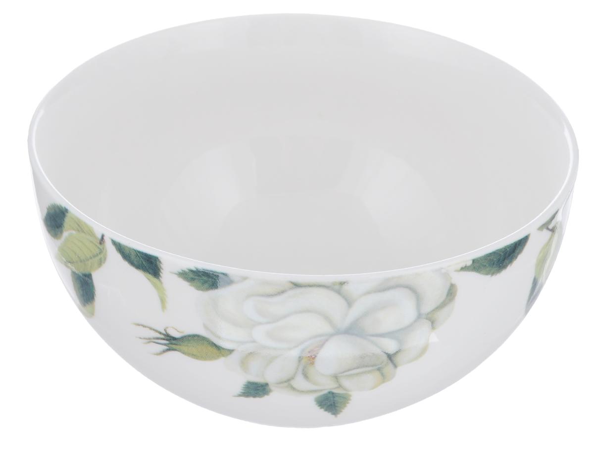 Тарелка суповая David Mason Design White Rose, диаметр 14 смPC5350010Тарелка суповая David Mason Design White Rose, выполненная из высококачественной керамики, декорирована изображением цветов. Изящный дизайн придется по вкусу и ценителям классики, и тем, кто предпочитает утонченность. Тарелка David Mason Design White Rose идеально подойдет для сервировки стола и станет отличным подарком к любому празднику.