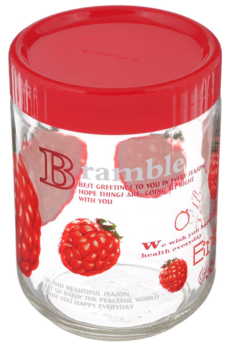 Банка для сыпучих продуктов Lilac Bramble, 1,2 лLLSE71200Банка Lilac Bramble, изготовленная из стекла, снабжена пластиковой крышкой, которая плотно и герметично закрывается, дольше сохраняя аромат и свежесть содержимого. Банка подходит для хранения сыпучих продуктов: круп, специй, сахара, соли и многого другого. Такая банка станет полезным приобретением и пригодится на любой кухне. Диаметр (по верхнему краю): 11 см. Высота: 16 см.