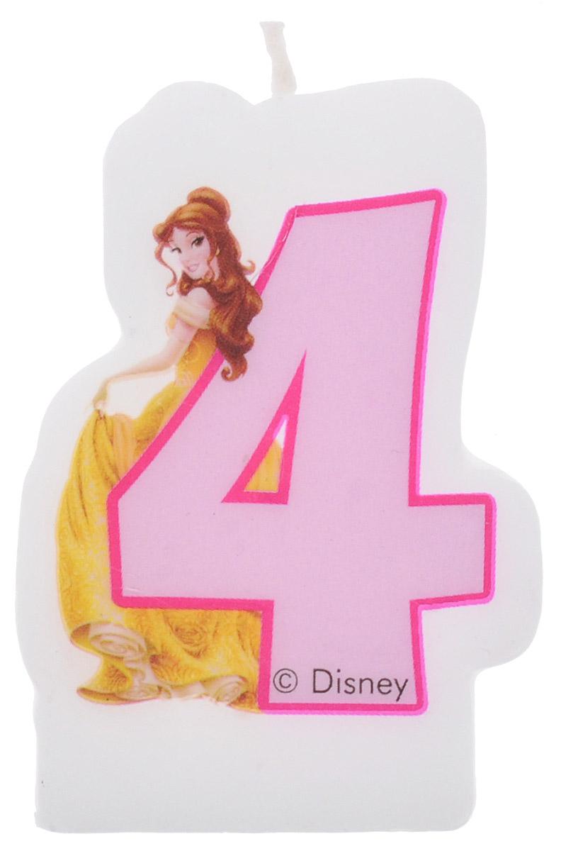 Procos Свеча-цифра для торта Принцессы 4 года9044, 82897Каждая именинница ждет своего праздничного торта со свечками, которые можно задуть и загадать желание. Вашей малышке будет особенно приятно видеть свечки с фигурками любимых сказочных принцесс Диснея. Свечка с принцессой Белль украсит праздничный торт малышки, которая отмечает свой четвертый день рождения.