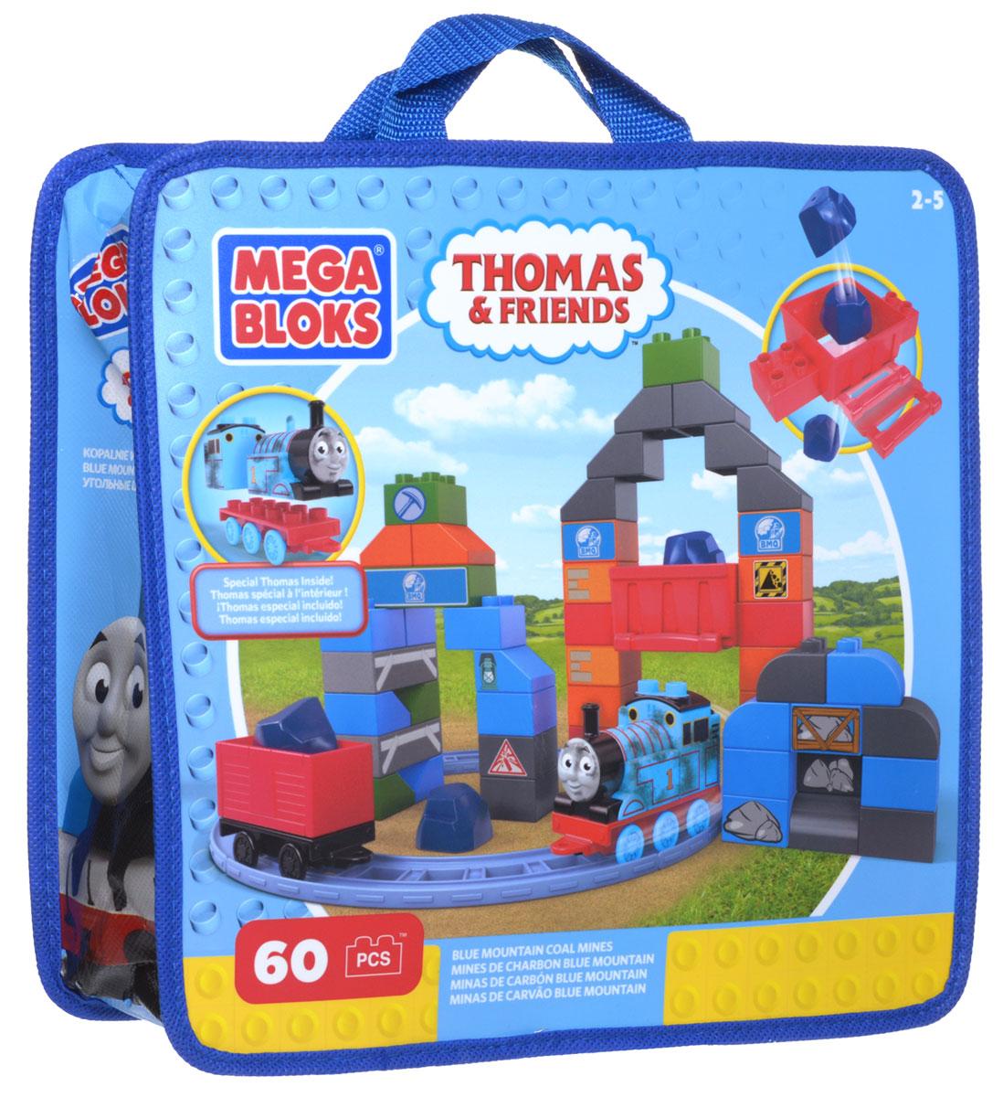 Mega Bloks Конструктор Угольные шахтыCNJ11_CNJ74Конструктор Mega Bloks Угольные шахты - удивительный подарок для вашего ребенка! Конструкторы Mega Bloks - это новые горизонты творчества. Каждый из наборов - это завершенная конструкция, имеющая некий сюжет. Этот конструктор входит в серию наборов Thomas & Friends, созданных по одноименному мультфильму. Томас и его верная команда помогают жителям городка: привозят почту, чинят железнодорожные пути и возят пассажиров к пунктам назначения. Ваш маленький водитель из 60 элементов конструктора сможет построить гору с железной дорогой, которая ведет прямо в угольную шахту. Пустите паровозик по рельсам и загрузите его вагон углем из специальных баков. Но осторожней! Не просыпьте уголь! Это тяжелая и грязная работа. Только посмотрите, Томас весь покрыт сажей! Ваш малыш сможет двигать Томаса по рельсам в разные стороны и поможет паровозику доставить уголь вовремя. Все элементы конструктора совместимы с другими сборными паровозами из этой серии....