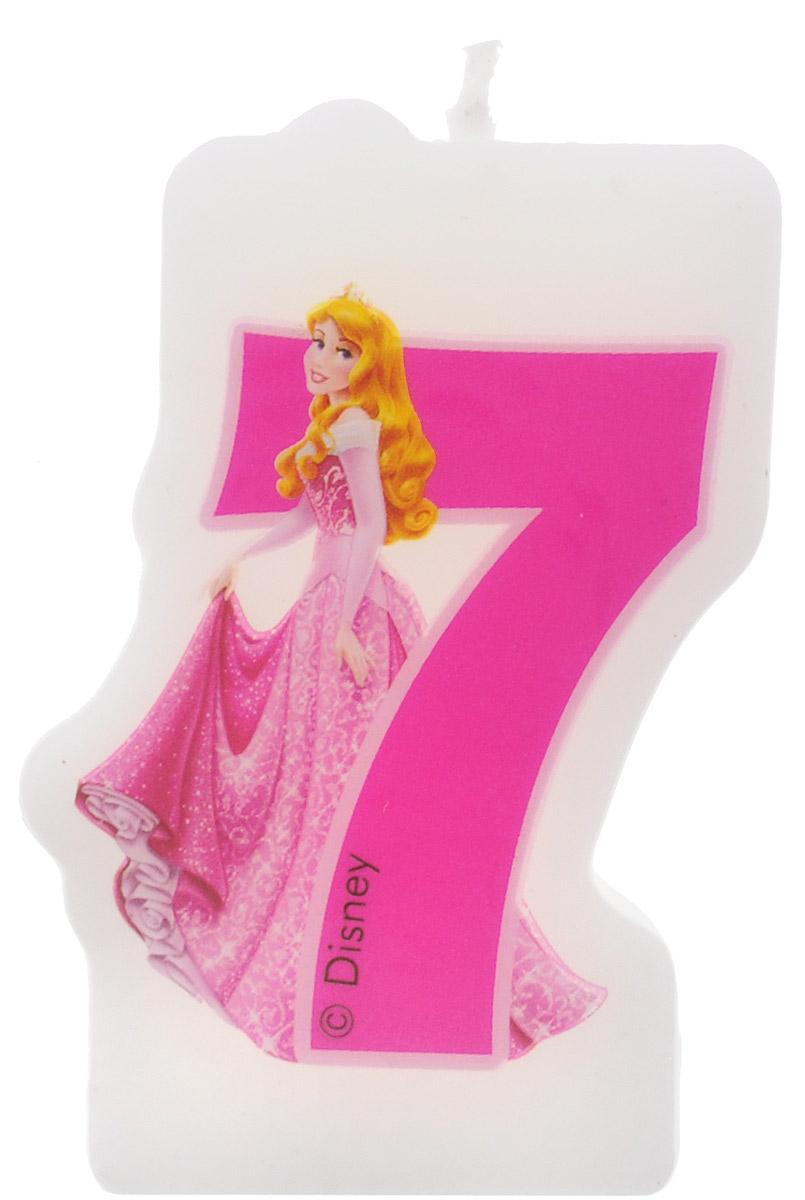 Procos Свеча-цифра для торта Принцессы 7 лет9047, 82900Каждая именинница ждет своего праздничного торта со свечками, которые можно задуть и загадать желание. Вашей малышке будет особенно приятно видеть свечки с фигурками любимых сказочных принцесс Диснея. Свечка с принцессой Авророй украсит праздничный торт девочки, которая отмечает свой 7-й день рождения.