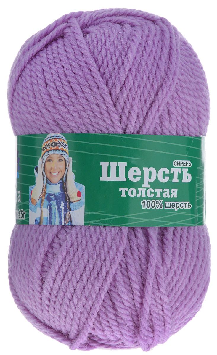 Пряжа для вязания Астра Wool XL, цвет: сиреневый, 110 м, 100 г, 3 шт488343_сиреньПряжа для вязания Астра Wool XL изготовлена из мягкой и высококачественной натуральной шерсти. Из такой пряжи получается тонкий и теплый трикотаж. Волокно имеет высокую упругость, поэтому хорошо держит форму, обладает высокой гигроскопичностью и отводит влагу от тела. Рекомендуемый размер спиц: 3-5 мм. Рекомендуемый размер крючка: 3-5 мм. Состав: 100% импортная полутонкая шерсть.