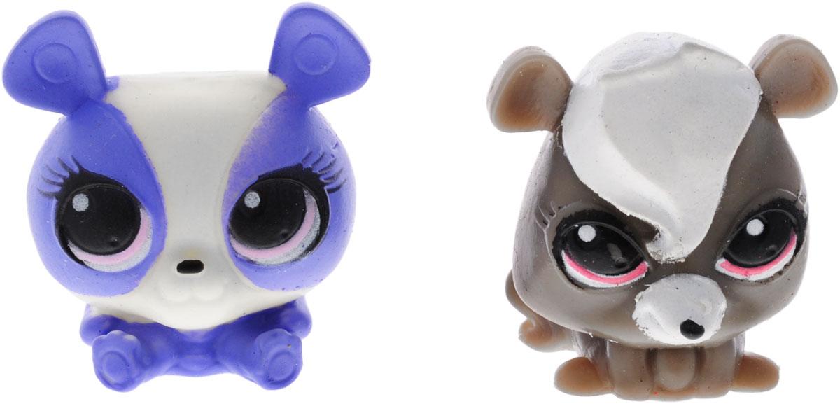 Littlest Pet Shop Игрушка-мялка 2 шт1134406_сиреневый/коричневыйИгрушки-мялки Littlest Pet Shop непременно понравятся вашему малышу! Игрушки выполнены в виде забавных зверушек из мультфильма Littlest Pet Shop. Игрушка выполнена из безопасной термопластичной резины с жидким наполнителем, благодаря чему ее можно сжимать, крутить, кидать - а она всегда будет возвращаться в первоначальный вид. Игрушка-мялка способствует развитию мелкой моторики пальцев рук, развивает творческое мышление, укрепляет кистевые мышцы рук, создает позитивный эмоциональный фон и является замечательным антистрессом. Порадуйте своего ребенка таким замечательным подарком!