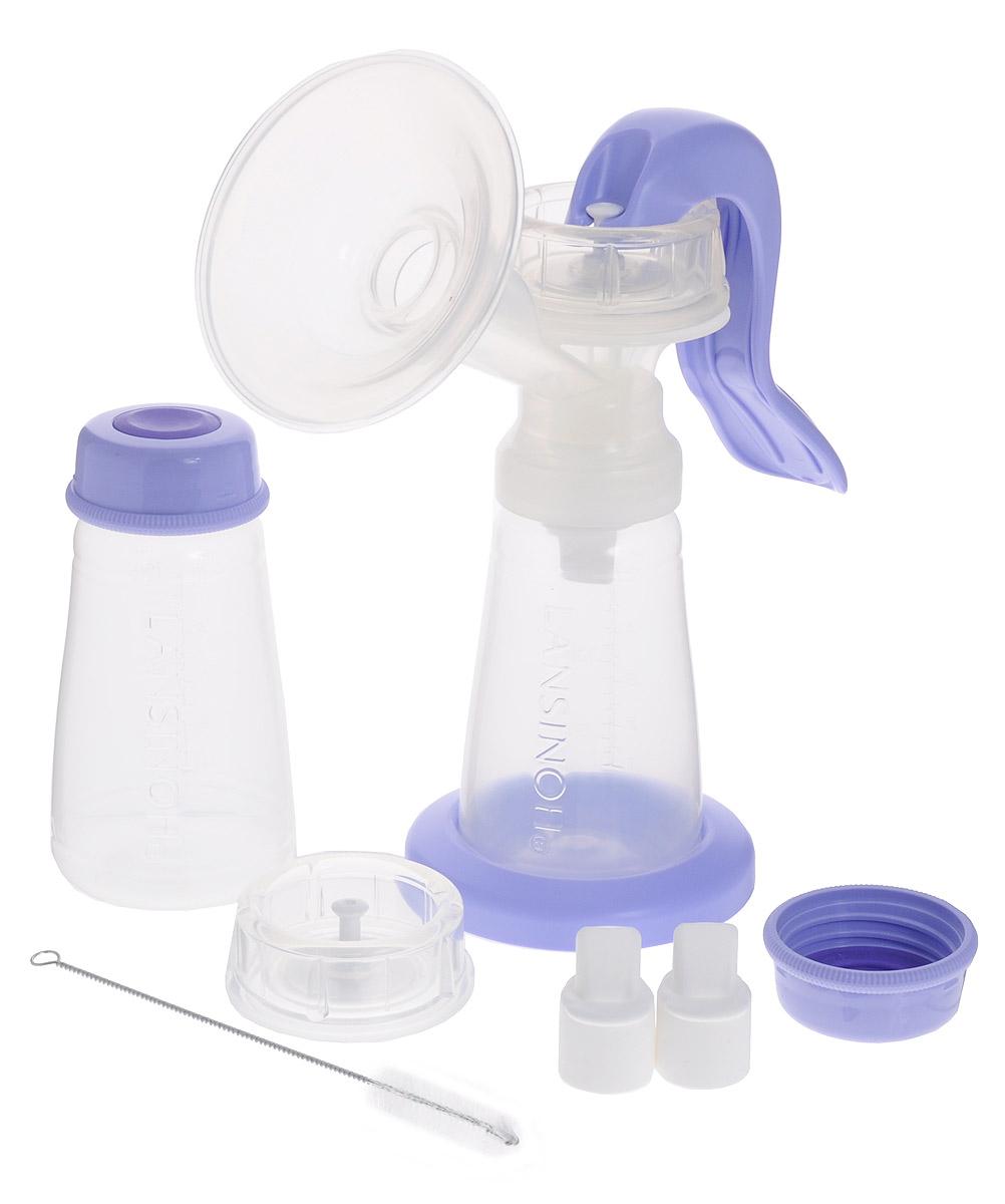 Lansinoh Молокоотсос ручной50430Ручной молокоотсос Lansinoh сочетает в себе три наиболее важных для кормящих женщин качества: простота, эффективность и надёжность. Его легко собирать, просто использовать и легко мыть. Основные части молокоотсоса Lansinoh изготовлены из медицинского полипропилена, являющимся наиболее безопасным пластиком. Полный набор аксессуаров обеспечит комфортное сцеживание грудного молока ручным способом. Ручка молокоотсоса нетугая и очень удобна для сцеживания одной рукой. Для сцеживания могут использоваться любые стандартные бутылочки. Особенности ручного молокоотсоса Lansinoh: Эргономичная ручка насоса молокоотсоса легко нажимается одной рукой. Рука не устанет даже после длительного сцеживания. Благодаря массажной накладке ComfortSeal сцеживание становится более эффективным и комфортным. Этот молокоотсос может использоваться с любой стандартной бутылочкой. Компактный и лёгкий. Эта модель весит всего 112 грамм, а значит его...