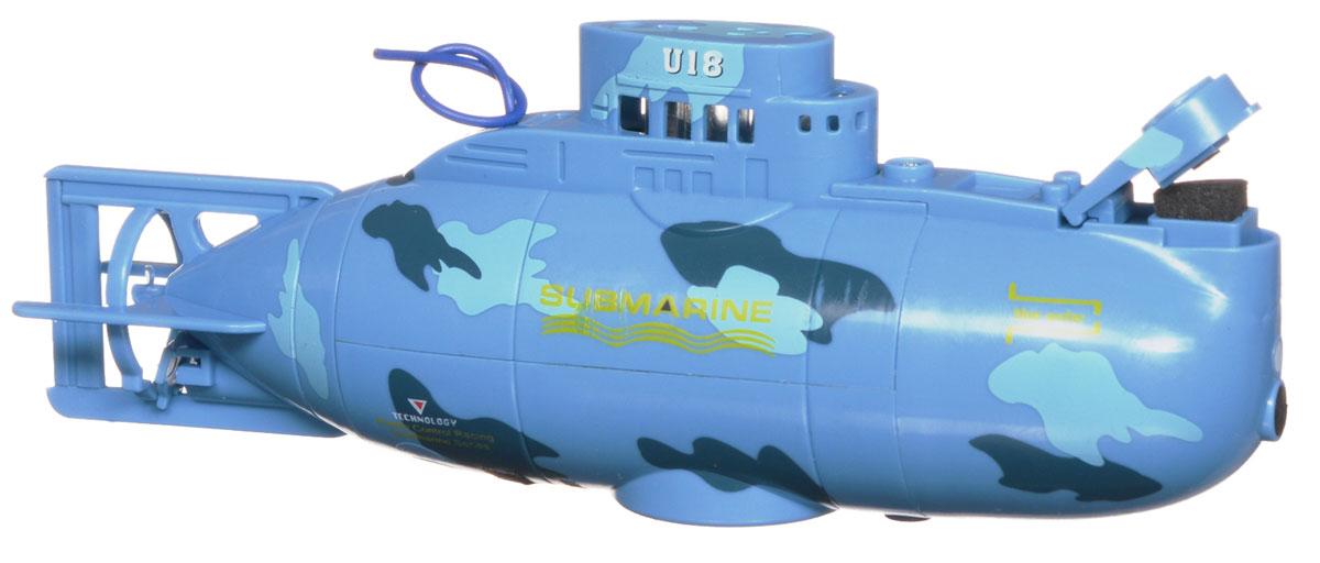 Bluesea Подводная лодка на радиоуправлении цвет синий3311Эта маленькая подводная лодка доставит массу приятных впечатлений людям любого возраста. Модель проста в использовании. Ее управление осуществляется с помощью 3-х канального пульта. Радиус действия пульта управления 5 м. Подводная лодка оснащена настоящей балластной системой! Она идеально подходит для запуска в аквариуме, ванне или небольшом бассейне. Модель может плавать, маневрировать и разворачиваться на 360 градусов. У лодки имеются световые эффекты. Игрушка отличается ярким, оригинальным дизайном и удобным управлением. В комплекте с игрушкой идет стильный, удобный пульт управления с антенной. Для работы пульта необходимо 4 батарейки типа ААА (не входят в комплект).