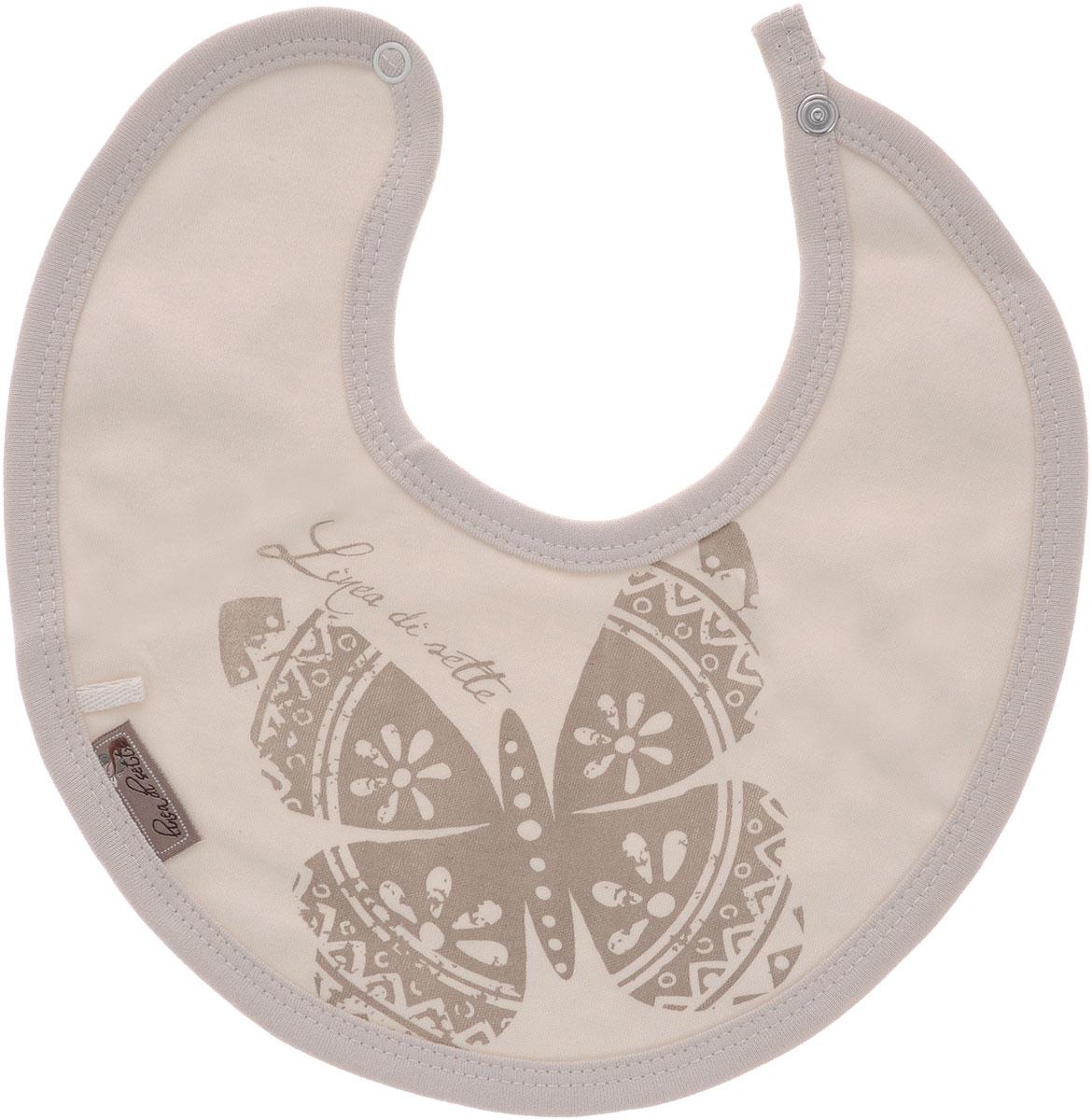 Linea Di Sette Нагрудник детский Бабочка 0-3 месяца