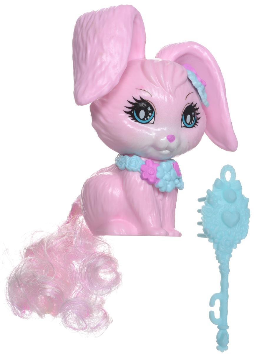 Barbie Фигурка Питомцы КроликDKB50_DKB51Фигурка Barbie Питомцы: Кролик входит в серию питомцев Барби с возможностью создания причесок. Эти зверушки, питомцы Барби, с роскошными длинными хвостами готовы сменить стиль в ваших руках! Хвосты у них съемные, подходят к другим зверям серии, а чтобы их расчесывать, прилагается щетка. В серию входят: розовая единорожка, белая собачка и розовый кролик - если собрать всех троих вместе, то менять и заплетать им хвосты можно до бесконечности! Потом прическу можно расчесать прилагаемой щеткой для волос и начать сначала. Куклы и звери из Королевства длинных кос - это часы игры и раздолье для парикмахерских фантазий! В комплект входит: фигурка, расческа.