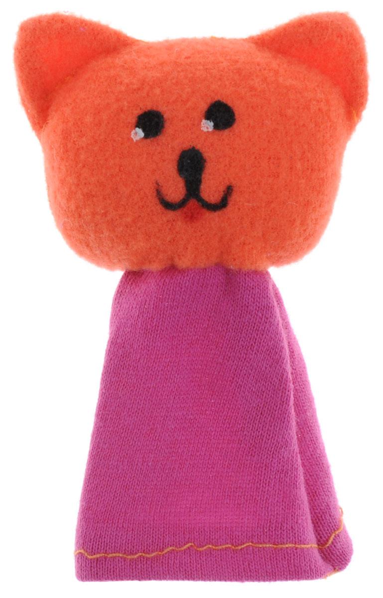 Наивный мир Кукла пальчиковая Кошка Мурка цвет оранжевый017.34_оранжевыйКукла пальчиковая Кошка Мурка, станет великолепным дополнением к вашему домашнему театру. Играть и ставить спектакли с пальчиковыми куклами необыкновенно интересно. Управлять такой куклой сможет даже ребенок. Играя, малыш разовьет мелкую моторику рук, а сочиняя сценарии - воображение.