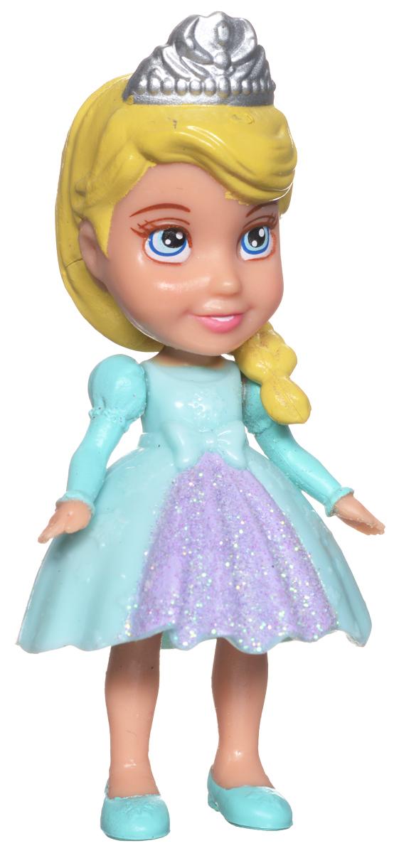 Disney Princess Мини-кукла Эльза758960_ElsaКукла-малышка Disney Princess Эльза из мультфильма Холодное сердце, непременно понравится вашей дочурке. Кукла в виде прекрасной принцессы полностью выполнена из пластика. На Эльзе короткое бирюзовое с блестками платье, на ножках - бирюзовые туфельки, а на голове у принцессы - корона. Ручки, ножки и голова у куколки подвижные. Такая куколка очарует вас и вашу дочурку с первого взгляда! Ваша малышка с удовольствием будет играть с Принцессой Эльзой, проигрывая сюжеты из мультфильма или придумывая различные истории. Порадуйте свою дочурку таким замечательным подарком!