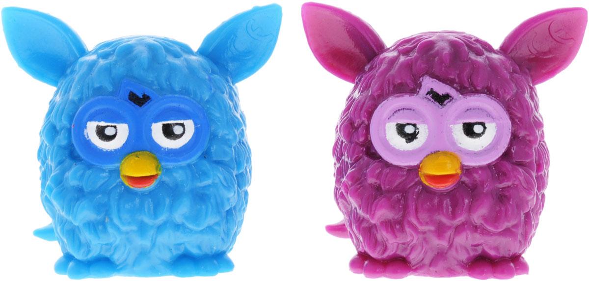 Hasbro Фигурка-мялка Furby цвет голубой фиолетовый 2 шт51921-0000012-01_голубой/фиолетовыйФигурка-мялка Hasbro Furby сделана из полимера с пластичным наполнителем. Играть с такими игрушками приятно - их можно мять, а они принимают первоначальную форму. Это прекрасное антистрессовое средство для любого возраста. Высота фигурки - 5 см.
