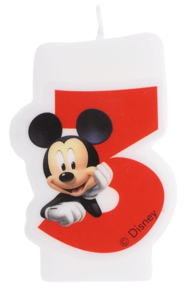 Procos Свечи для торта детские Объемная свечка Микки 3 года6143, 83151Праздничный торт - главный атрибут праздника на любом дне рождения, особенно, если это детский день рождения. Чтобы сделать торт необычным, достаточно украсить его оригинальными свечами от Procos. С помощью свечей с героями из мультфильма про Микки Мауса и его друзей, вы порадуете вашего ребенка и сделаете день рождения незабываемым.