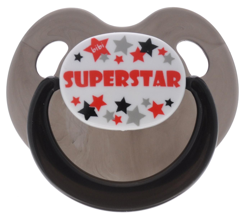 Bibi Пустышка силиконовая Dental Superstar от 16 месяцев