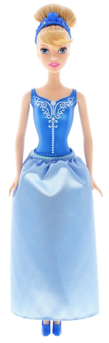 Disney Princess Кукла Золушка в корсаже и юбкеY5647_CHF90Кукла Disney Princess Золушка - невероятно интересная и эффектная игрушка для всех поклонниц мультфильма! Кукла представлена в корсаже и голубой юбке. Густые золотые волосы куклы Золушки убраны в высокую прическу, как в мультфильме, а держит ее синяя диадема. На ногах туфельки в тон к платью. Изделие выполнено из прочного и безопасного материала. Ваша малышка с удовольствием будет играть с этой куколкой, проигрывая сюжеты из мультфильма или придумывая различные истории.