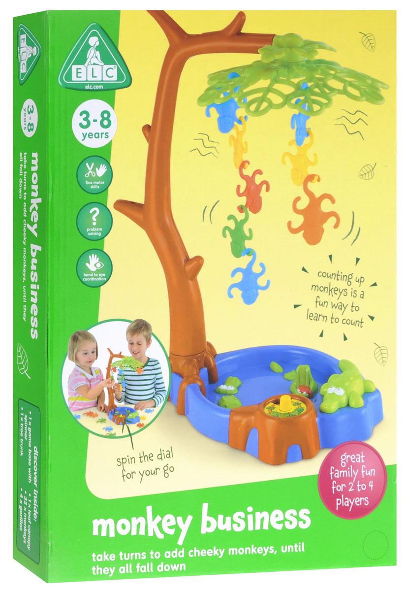 ELC Настольная игра Проворные обезьянки124816С настольной игрой ELC Проворные обезьянки ваш ребенок будет занят часами. Цель игры: подвешивать обезьянок своего цвета до тех пор, пока дерево не упадет. Кто успел повесить больше, тот и победил. Прекрасное упражнение для определения цветов и обучения счету. В комплекте: дерево, болото, 36 фигурок обезьян. Игра отлично развивает координацию движений и навыки счета. Игрушка поощряет ребенка к достижению нужного ему результата. Ребенок будет в восторге от такого подарка!