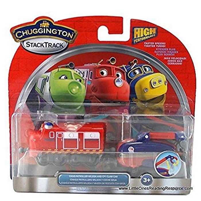 Chuggington Паровозик Уилсон с вагончикомLC54123ВНИМАНИЕ! Производитель оставил за собой право менять материал товара. Паровозы могут быть пластиковыми или металлическими.