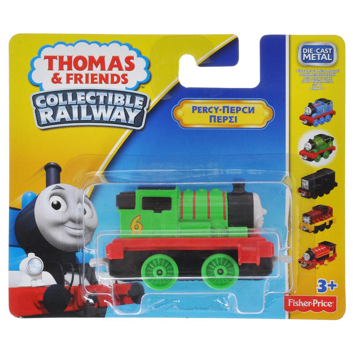 Thomas&Friends Collectors Базовый паровозик Перси, цвет: зеленый, красный