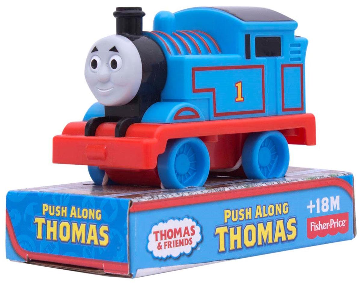 Thomas&Friends Паровозик Томас W2191W2190/W2191Маленький, свободно перемещающийся паровозик Томас выполнен из пластика в виде персонажа популярного мультсериала Томас и его друзья (Thomas & Friends ). Томас - маленький паровозик с задорным характером. Он всегда стремится сделать все быстрее и лучше остальных, из-за чего часто попадает в неприятности. Соберите все пять своих любимых персонажей: Томаса, Перси, Гарольда, Дизеля и Чарли. Порадуйте своего непоседу такой замечательной игрушкой!