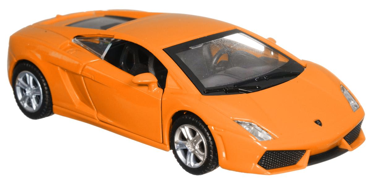 ТехноПарк Модель автомобиля Lamborghini Gallardo LP 560-4 цвет оранжевый
