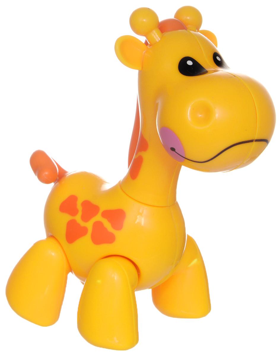 1TOY Фигурка В мире животных ЖирафТ57445Фигурка В мире животных. Жираф, выполненная из яркой пластмассы в виде симпатичного жирафика, непременно придется по душе вашему малышу. Забавная фигурка имеет подвижные лапы, хвост и шею. Если двигать частями тела животного, то будут слышны негромкие щелкающие звуки. Фигурка В мире животных способствует развитию у ребенка цветового и звукового восприятия, мелкой моторики рук, хватательного рефлекса, осязания, координации движений и изучению живого мира нашей планеты. Отлично подходит для сюжетно-ролевых игр, которые способствуют развитию памяти и воображения у малыша.