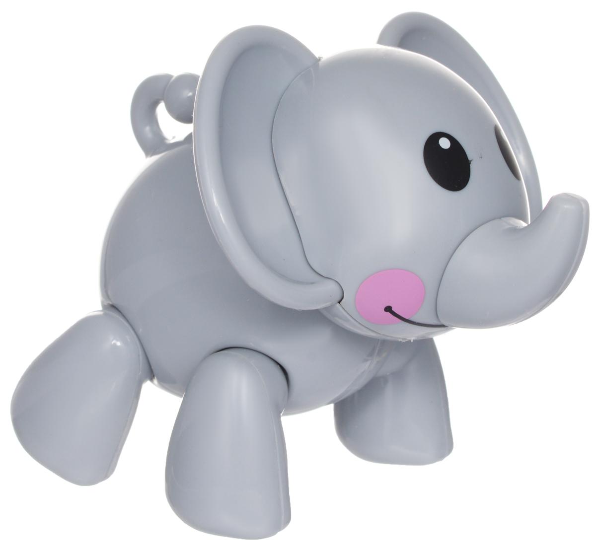 1TOY Фигурка В мире животных СлонТ57441Фигурка В мире животных. Слон, выполненная из пластмассы в виде симпатичного серого слоника, непременно придется по душе вашему малышу. Забавная фигурка имеет подвижные лапы, хвост и шею. Если двигать частями тела животного, то будут слышны негромкие щелкающие звуки. Фигурка В мире животных способствует развитию у ребенка цветового и звукового восприятия, мелкой моторики рук, хватательного рефлекса, осязания, координации движений и изучению живого мира нашей планеты. Отлично подходит для сюжетно-ролевых игр, которые способствуют развитию памяти и воображения у малыша.