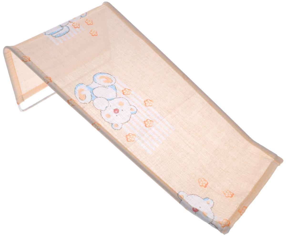 Фея Подставка для купания Мишки цвет бежевый белый