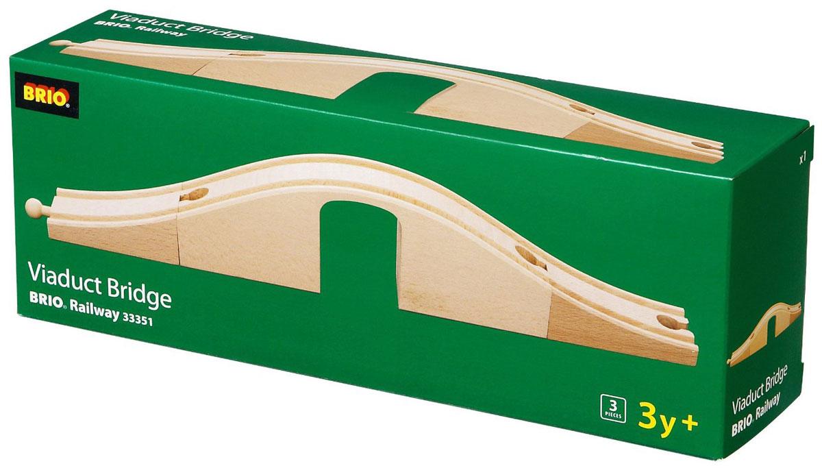 Brio Набор дополнительных элементов для железной дороги Виадук с аркой