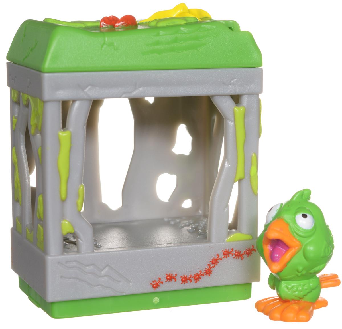 Ugglys Pet Shop Игровой набор Домик с фигуркой Poop Coop19411_poop coopИгровой набор из серии Хулиганские животные состоит из домика со звуковыми эффектами и уникальной фигурки питомца, которую нельзя найти в других упаковках и наборах серии. Домик выполнен в ярких цветах и притягивает взгляд. Если внутри него поместить мини-фигурку животного и надавить на пол - будут раздаваться звуки. В ассортименте представлено 6 домиков, которые можно состыковать один с другим и построить большой зоомагазин с эксклюзивными животными. Такая удивительная игрушка обязательно понравится вашей малышке! Порадуйте ее таким замечательным подарком! Для работы требуются 2 батарейки типа LR44 (комплектуется демонстрационными).