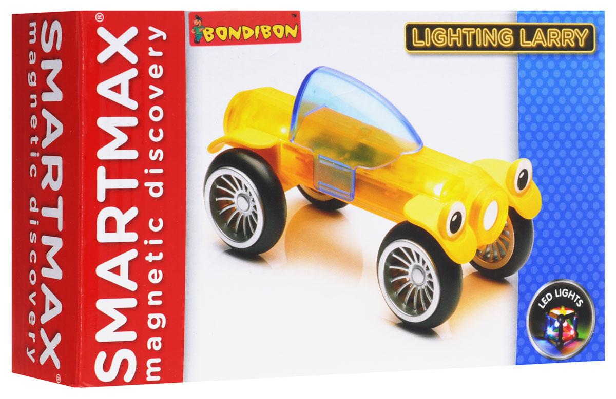 Bondibon Конструктор магнитный Smartmax Светящийся Ларри цвет желтыйВВ0950_желтыйВаш ребенок очень активно проявляет интерес к технике и к новым открытиям? Направить в нужное русло такой его способности и любопытство поможет наш магнитный конструктор SmartMax. Невероятное притяжение внимания и сосредоточенность в процессе изучения физических свойств магнитиков - это настолько приятное зрелище для родителей, что отказаться от такой игры просто невозможно! Плюс - пополнение в гараже машинок, сотворенное своими руками! Все просто и интересно. Набор «Светящийся лари» имеет необычные детали для магнитного конструктора с LED-светом: Light House! Красочный, яркий, познавательный и очень увлекательный конструктор. Магнитный конструктор состоит из множества деталей. Используйте их с деталями из основных наборов для построения необычных конструкций. За счет больших размеров магнитных палочек конструктор абсолютно безопасен для ребенка. Кроме того, все магниты запаяны в высококачественный пластик так, что у ребенка нет возможности извлечь их из деталей. В серию...