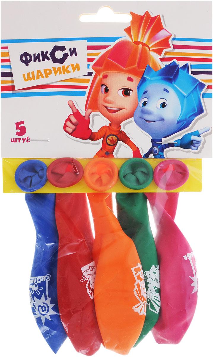 Веселая затея Набор воздушных шаров Фиксики цвет мультицвет 5 шт1111-0411_синий, красный, оранжевый, зеленый, бордовыйНабор воздушных шаров Веселая затея Фиксики включает в себя 5 разноцветных шариков с изображениями героев мультсериала Фиксики. Изготовлены из прочного натурального латекса. Воздушные шарики помогут украсить место вашего праздника, праздничный стол или стать достойной наградой за победу в конкурсе. Эти яркие праздничные аксессуары поднимут настроение вам и вашим гостям!