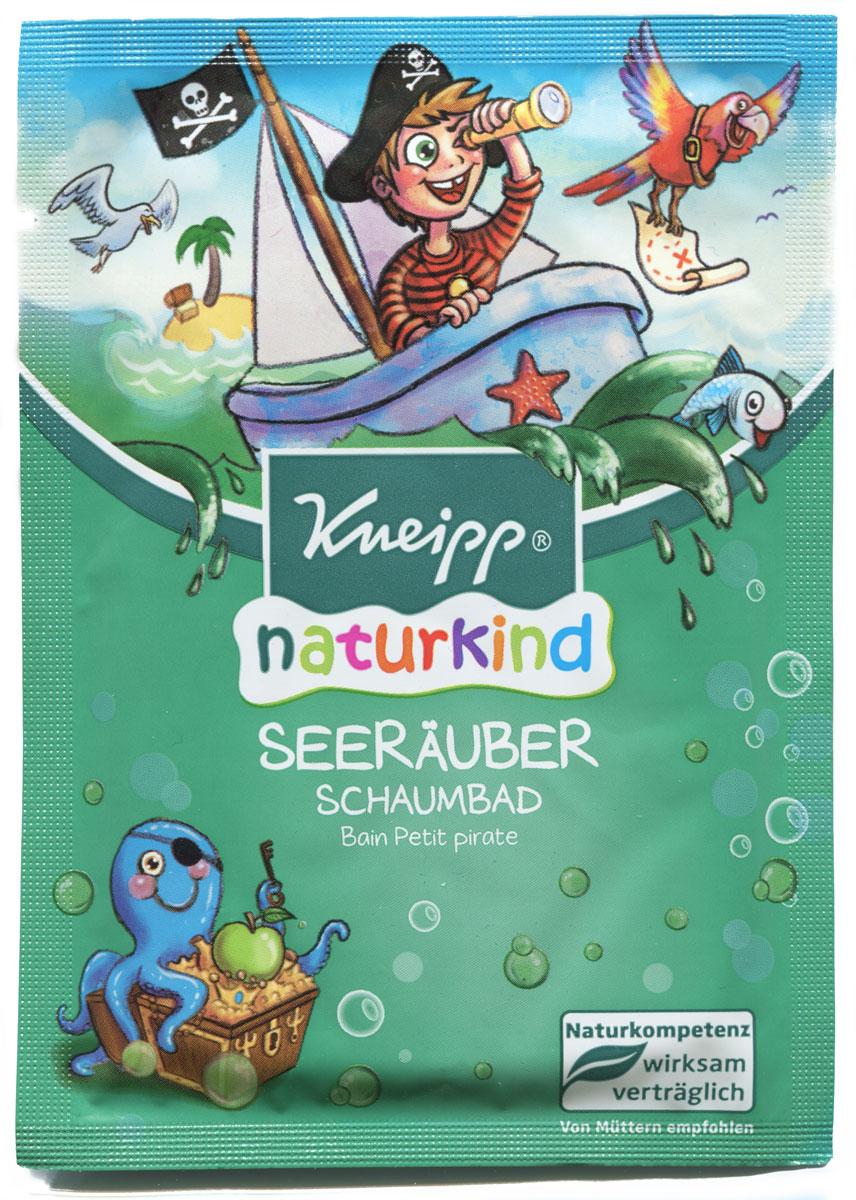 Kneipp Пена для ванны Пират 40 мл3915980/910598_новый дизайнПена для ванн с натуральными растительными маслами - это удовольствие для всех пиратов, баз всякого страха сражающихся с долговечностью пены. Свежий аромат яблока, цвет воды и увлажняющие масла жожоба и экстракт календулы помогут юным героям чувствовать себя особенно комфортно.