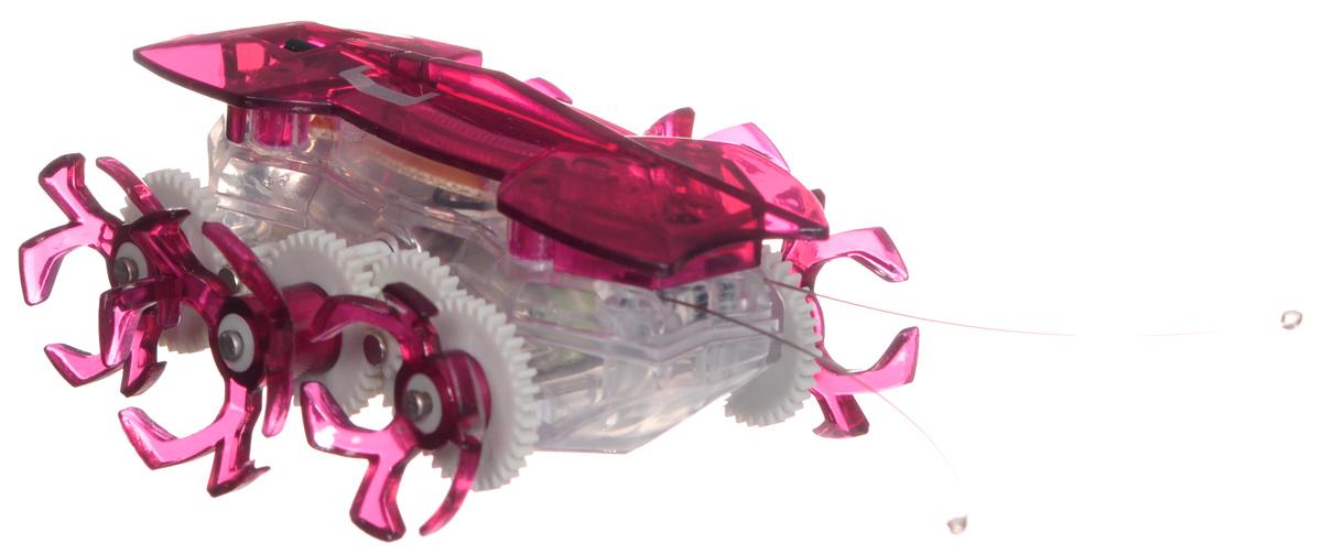 Hexbug Робот на радиоуправлении Огненный муравей цвет красный477-2864_4Самый быстрый микро-робот теперь стал управляемым! Fire Ant - шустрый и послушный муравей. Традиционный Hexbug Ant помещался на ладони и был неуправляемым шалуном. Поймать микро-робота было невозможно: стоило только опустить букашку на гладкую твердую поверхность, нажать кнопочку, расположенную у нее под брюшком, и муравей пускался наутек! Но время неумолимо летит вперед, все меняются и растут. Также вырос и малыш-муравей. Размеры Fire Ant стали больше, изменился внешний вид шести ножек, которые стали более цепкими. Шустрый домашний питомец и послушный друг: огненный муравей совмещает в себе все достоинства микро-роботов Hexbug. С новыми огненными муравьями возможно играть не только в одиночку, но и устраивать соревнования с друзьями, ведь пульт управления умного микро-робота имеет несколько каналов: настройте их на разные каналы и два огненных муравья смогут соревноваться друг с другом! Питание: 5 батареек AG-13 (входят в комплект).