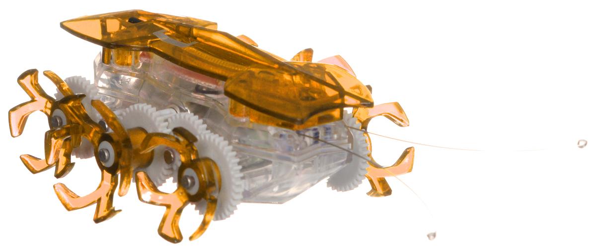 Hexbug Робот на радиоуправлении Огненный муравей цвет оранжевый477-2864_3Самый быстрый микро-робот теперь стал управляемым! Fire Ant — шустрый и послушный муравей. Традиционный Hexbug Ant помещался на ладони и был неуправляемым шалуном. Поймать микро-робота было невозможно: стоило только опустить букашку на гладкую твердую поверхность, нажать кнопочку, расположенную у нее под брюшком, и муравей пускался наутек! Но время неумолимо летит вперед, все меняются и растут. Также вырос и малыш-муравей. Размеры Fire Ant стали больше, изменился внешний вид шести ножек, которые стали более цепкими. Шустрый домашний питомец и послушный друг: огненный муравей совмещает в себе все достоинства микро-роботов Hexbug. С новыми огненными муравьями возможно играть не только в одиночку, но и устраивать соревнования с друзьями, ведь пульт управления умного микро-робота имеет несколько каналов: настройте их на разные каналы и два огненных муравья смогут соревноваться друг с другом! Питание: 5 батареек AG-13 (входят в комплект).