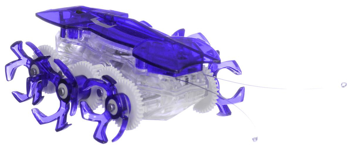 Hexbug Робот на радиоуправлении Огненный муравей цвет синий477-2864Самый быстрый микро-робот теперь стал управляемым! Fire Ant - шустрый и послушный муравей. Традиционный Hexbug Ant помещался на ладони и был неуправляемым шалуном. Поймать микро-робота было невозможно: стоило только опустить букашку на гладкую твердую поверхность, нажать кнопочку, расположенную у нее под брюшком, и муравей пускался наутек! Но время неумолимо летит вперед, все меняются и растут. Также вырос и малыш-муравей. Размеры Fire Ant стали больше, изменился внешний вид шести ножек, которые стали более цепкими. Шустрый домашний питомец и послушный друг: огненный муравей совмещает в себе все достоинства микро-роботов Hexbug. С новыми огненными муравьями возможно играть не только в одиночку, но и устраивать соревнования с друзьями, ведь пульт управления умного микро-робота имеет несколько каналов: настройте их на разные каналы и два огненных муравья смогут соревноваться друг с другом! Питание: 5 батареек AG-13 (входят в комплект).